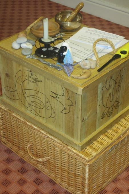 storybox for workshop